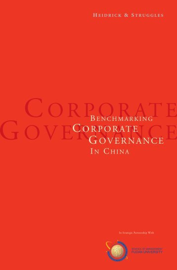 CORPORATE GOVERNANCE - Compliance Week