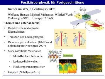 Folien - Fachbereich Physik