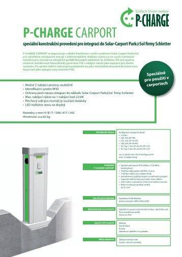 P-CHARGE CARPORT - Schletter GmbH