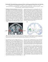 Funktionelle Charakterisierung somatosensorischer Areale im ...