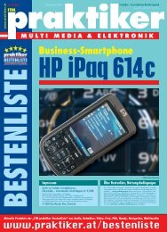 Hewlett Packard iPaq 614c Business Navigator ... - Praktiker.at