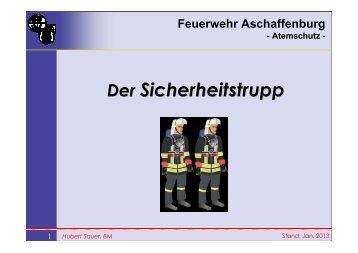 Sicherungstrupp - Feuerwehr-Leider-Nilkheim LZ4/5