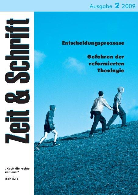 Heft 2/2009 - Zeit & Schrift