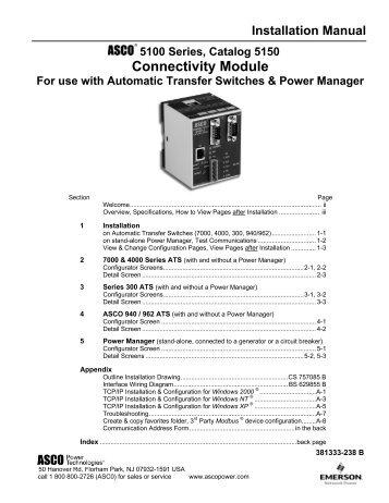Connectivity Module - Winco Generators