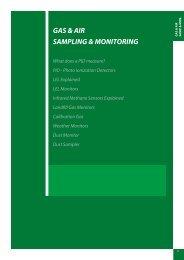 GAS & AIR SAMPLING & MONITORING - Thermo Fisher