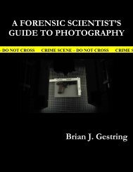 A FORENSIC SCIENTIST'S GUIDE TO PHOTOGRAPHY Brian J ...