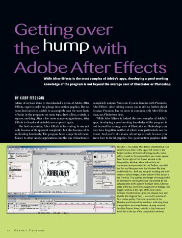 Getting Over the Hump with After Effects - Graphic Exchange ...