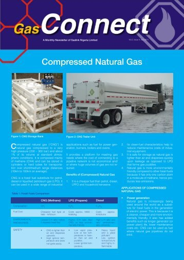 Gas Connect April 2011 - Oando PLC