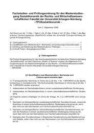 Fachprüfungsordnung für den Bachelor- und Masterstudiengang ...