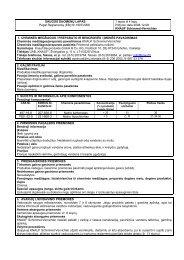 Schimmel-Vernichter - saugos duomenų lapas - Knauf