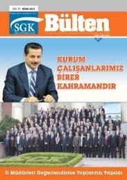 Sayı 55 (Nisan 2013 ) - Sosyal Güvenlik Kurumu
