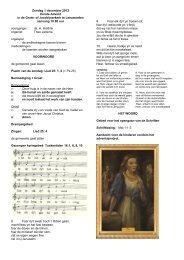 Tweede zondag van de Advent - Protestantsekerk.net
