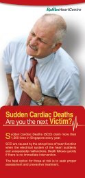 Sudden Cardiac Deaths - Raffles Medical Group