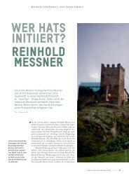 Reinhold Messner - Schweizerische Weinzeitung