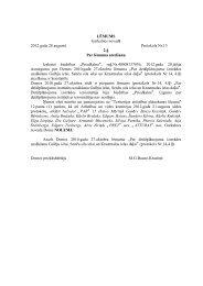 28. augusta Domes sēdes lēmumi - Garkalnes novads