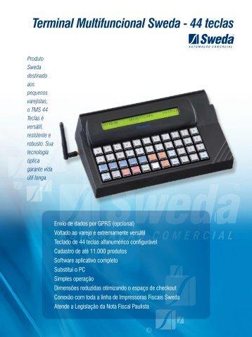 Terminal Multifuncional Sweda - 44 teclas