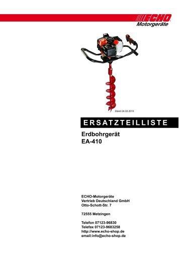 EA-410 - Gartentechnik-Bremen
