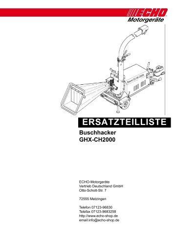 GHX-CH2000 - Gartentechnik-Bremen