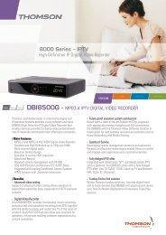 8000 Series – IPTV - Marcom Telecoms Home page