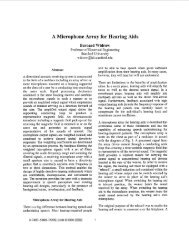 A microphone array for hearing aids - Information Systems ...