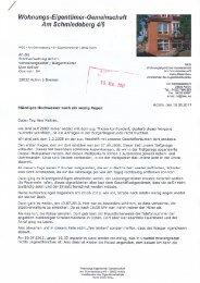Wohnungs-Eigentümer-Gemeinschaft Am Schmiedeberg 4/6