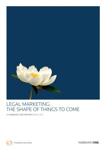 LegAL MARKeTing: THe SHAPe Of THingS TO COMe - Peppermint ...