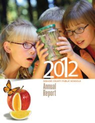 Annual Report - Orange County Public Schools