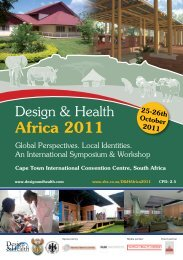 Africa 2011 - the International Academy of Design and Health