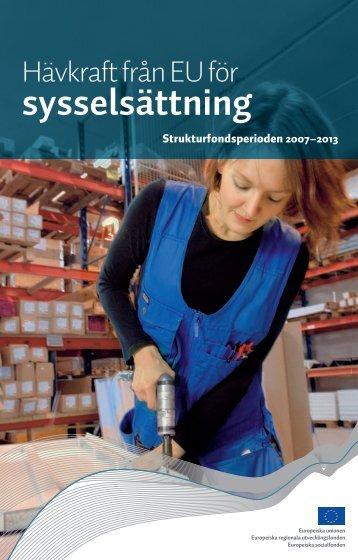 Hävkraft från EU för sysselsättning (pdf) - Rakennerahastot.fi