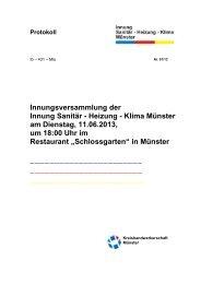 PDF-Datei - Innung Sanitär Heizung Klima Münster