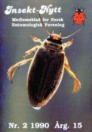 hr. 2 19ka - Norsk entomologisk forening