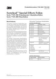 Scotchcal™ Special Effects Folien Serie 7725-300 ... - 3M