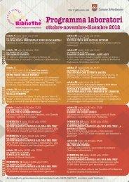 Programma laboratori - Turismo Friuli Venezia Giulia