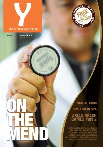 Y - January 4, 2011 - Issue 151 - Y-oman.com