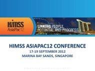 Download Presentation - HIMSS AsiaPac
