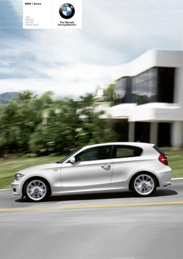 The BMW 1 Series 120i - Vines