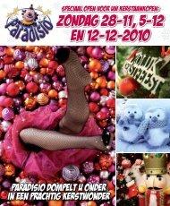 zondag 28-11, 5-12 en 12-12-2010 - Paradisio