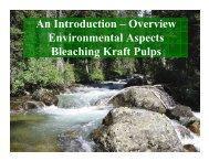 An Introduction – Overview Environmental Aspects Bleaching Kraft ...
