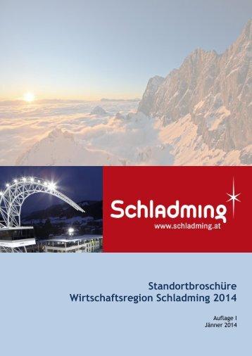 Standortbroschüre Wirtschaftsregion Schladming 2014