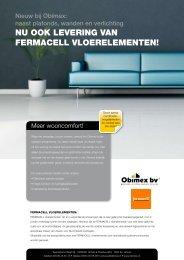 nu ook levering van fermacell vloerelementen! - Typisch Obimex