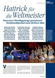 Goldstadtpokal - Deutscher Tanzsportverband eV