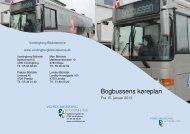 Bogbussens køreplan - Vordingborg Bibliotekerne