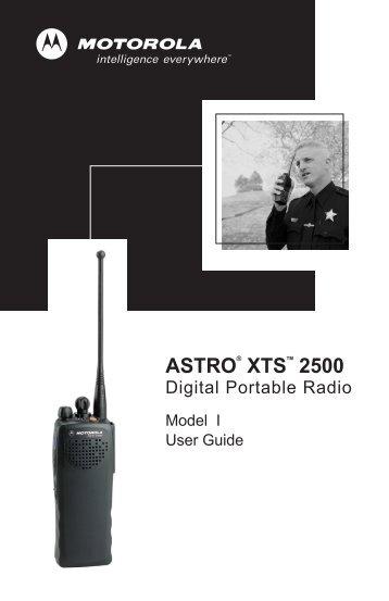 Motorola XTS 2500 Operators Manual - Communications Services