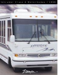 Intruder Class A Motorhomes • 1998 - RVUSA.com - RV