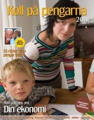 Koll på pengarna 2011 - Konsumentverket