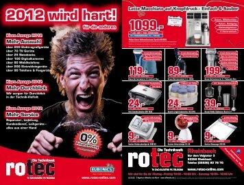 2012 Wird Hart! - Rotec Online