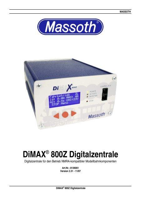 Dimax® 800Z Digitalzentrale - Champex-Linden