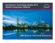 Stealth Compressor Stations - Gas/Electric Partnership