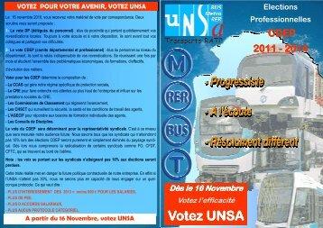 liste CDEP A3 - Unsa