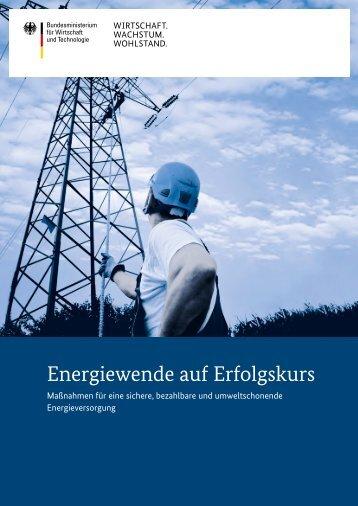 Energiewende auf Erfolgskurs